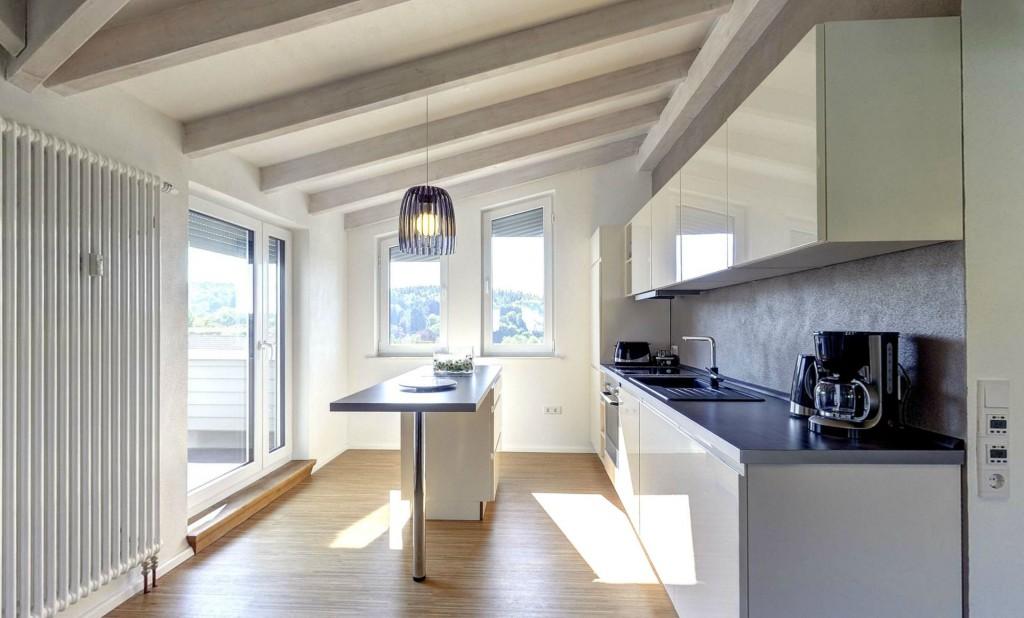 Küche Ferienwohnung Lauterbach