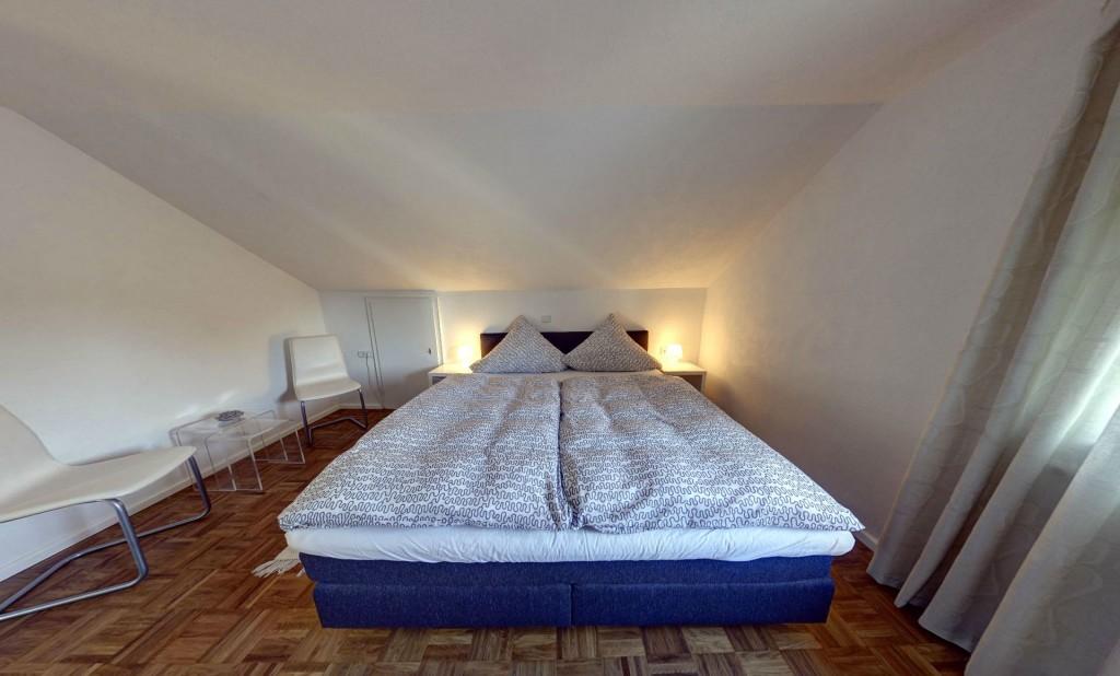 Doppelbett Ferienwohnung Lauterbach